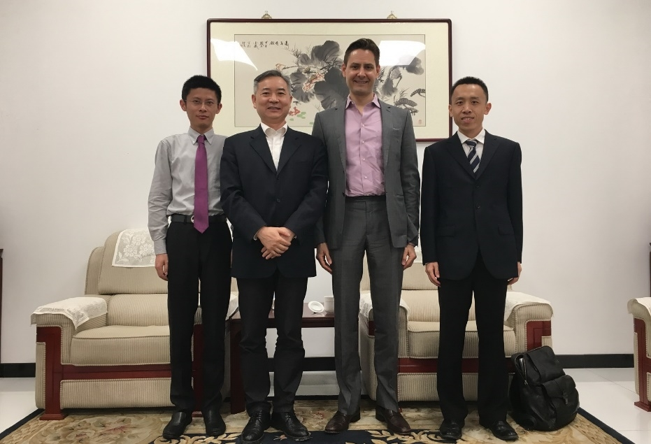 Deputy Chief Economist Meets with Micheal Kovrig of International Crisis Group